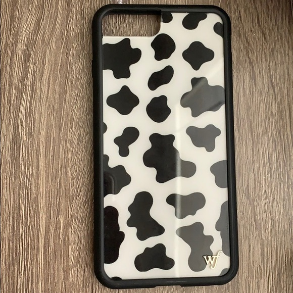 outlet store 31c95 9e5cb Wildflower Accessories | Wild Flower Cow Print Phone Case | Poshmark